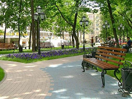 В Курске в этом году реконструируют семь парков и скверов