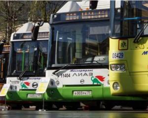 Разнообразие общественного транспорта Москвы