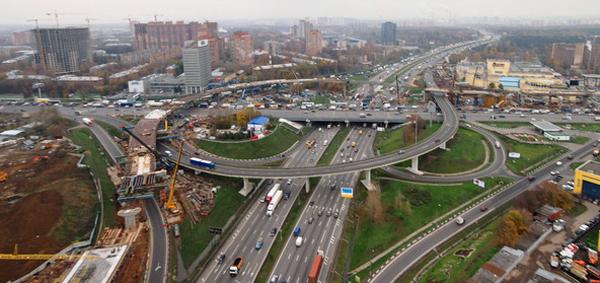 Ремонт развязки Рязанского проспекта и МКАД наконец-то завершился