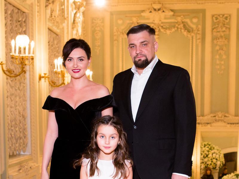 Вакуленко с семьей на дне рождения