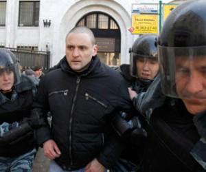 Сергей Удальцов вместе со своими сторонниками задержан полицией