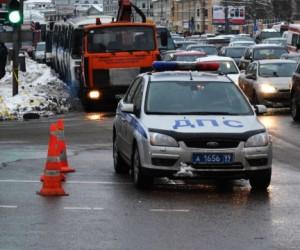 Сотрудник полиции сбил пешехода по дороге на работу, не справившись с управлением