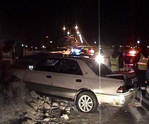Скрываясь от погони, пьяный водитель наехал на полицейского