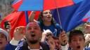 К чемпионату по футболу 2012 года в Москве планируется создать фан-зоны для трансляции матчей