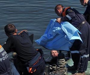 На Новоданиловской набережной, автомобиль вылетел в Москву-реку, водитель не выжил
