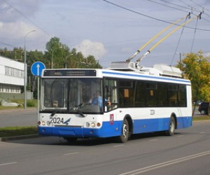 Студентку чуть не убило током при выходе из троллейбуса
