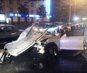 В крупном ДТП на Кутузовском погиб человек