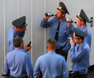 Очередное ДТП в Московском регионе с участием полиции