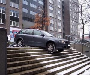 Московских водителей приучат правильно парковаться