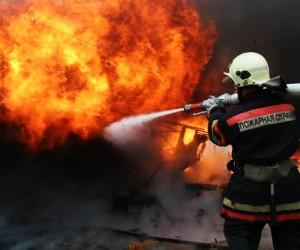 Бизнесмен из Подмосковья поджёг дом, обстрелял пожарных и застрелился сам