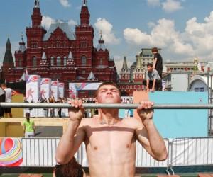 На Красной площади можно сдать нормативы ГТО