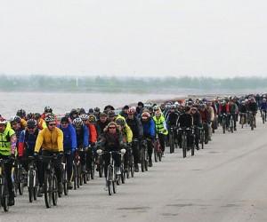 Набережные Москвы-реки наводнили тысячи велосипедистов