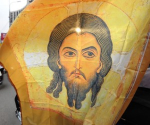 В столице прошел автопробег в защиту РПЦ, православной семьи и против абортов