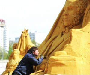 Великая история России воплотится в песке, в Коломенском