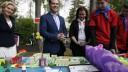 Медведев посетил детский подмосковный санаторий
