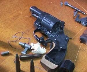 Столичная полиция обнаружила подпольную оружейную мастерскую