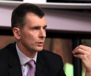 М.Прохоров намерен стать столичным мэром