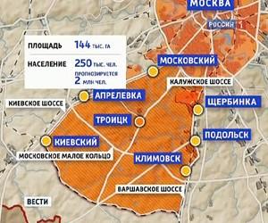 Изменение границ Москвы ее жители почувствуют после Нового года