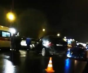 На подмосковном участке трассы «Дон» автобус протаранил 13 машин