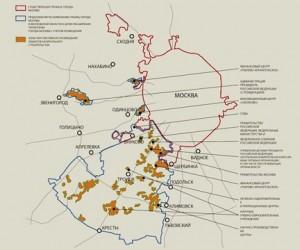 С 1 июля Москва обретает новые границы