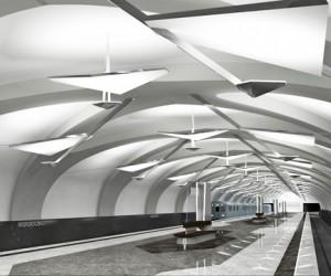 Сегодня Путин открыл новую, 186-ю станцию московского метро