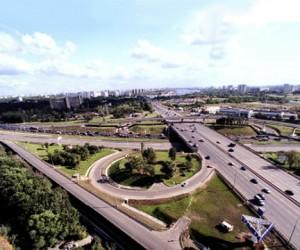 На развязке Ленинградки и МКАД появятся новые эстакадные съезды