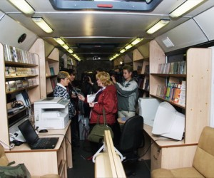 В Подмосковье начнут курсировать библиобусы