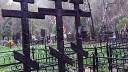На могилах семьи, сбитой пьяной лихачкой, вандалы сожгли кресты