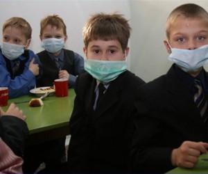 В столичных школах началась эпидемия гриппа