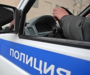 Машина полиции сбила в Москве нетрезвого пешехода