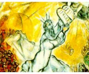 В столице впервые представлены литографии Марка Шагала к Библии