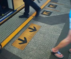 Столичный метрополитен создаст напольную навигацию
