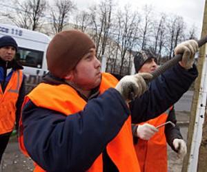 В Москве начался массовый демонтаж ларьков