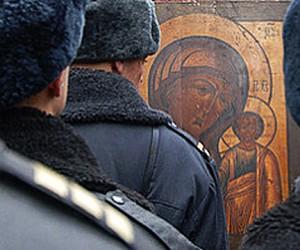 В новогодние праздники осквернили московскую христианскую святыню