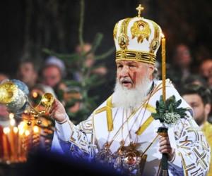 B храме Христа Спасителя в Москве началось рождественское богослужение