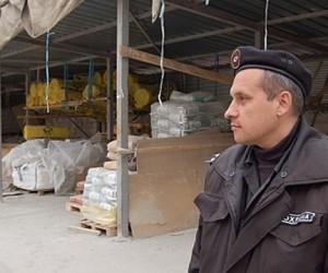 На севере столицы охранник отбил нападение банды на логистический склад