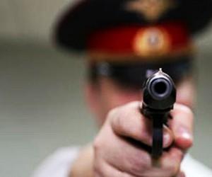 В столице похитителя платежного терминала подстрелили полицейские