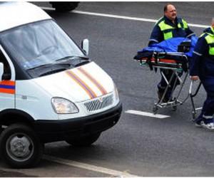 Мужчину, устанавливавшего на МКАД аварийный знак, насмерть сбила машина