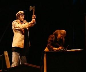 В Театре им. Моссовета готовятся к «Преступлению»