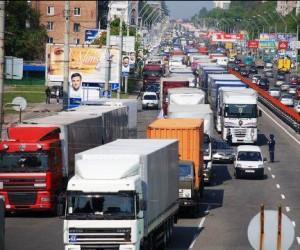 Грузовикам запретят передвигаться по Москве без ГЛОНАСС