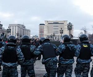 ГУ МВД Москвы будет наказывать за акции, на которые явилось мало людей