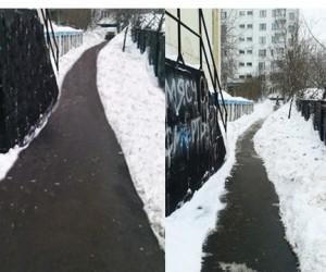 Глава управы столичного района чистил улицы «фотошопом»