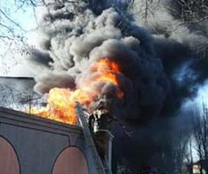 Пожар в институте химической физики им. Семенова