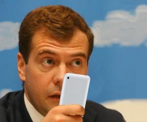 По словам Медведева, в Москве самая плохая связь
