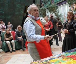 Церетели провел для детей-инвалидов мастер-класс в столичном музее