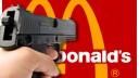 На юге столицы трое с пистолетом ограбили McDonalds