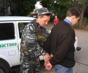 Сотрудники ЧОП смогут досматривать и задерживать нарушителей