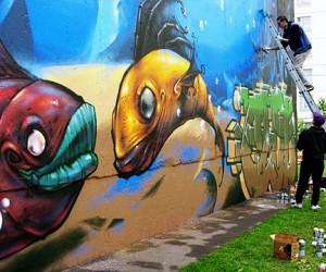 Уличным художникам разрешили раскрасить столицу
