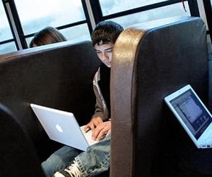 В московских маршрутках появится бесплатный Wi-Fi