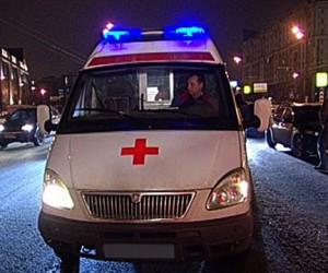 В ДТП на юге Москвы перевернулась «скорая», пострадала беременная девушка